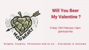 Will You Beer My Valentine