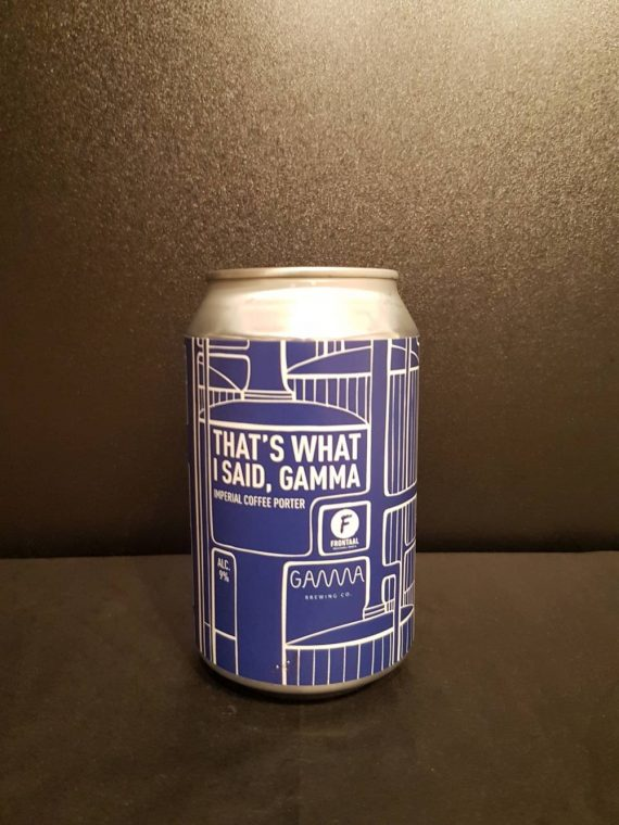 Frontaal - That's What I Said Gamma