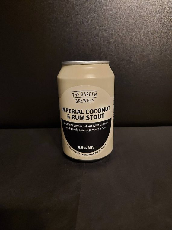 The Garden Brewery - Imperial Coconut and Rum Stout
