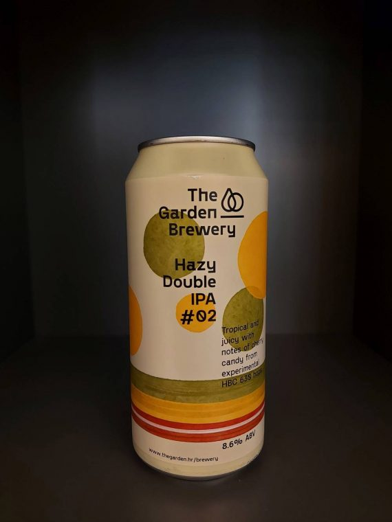 The Garden - Hazy DIPA #02